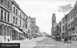 Barrow-In-Furness, Duke Street c.1955