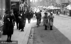 Barrow-In-Furness, Girls In Dalton Road 1918, Barrow-In-Furness