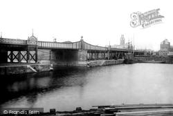 Barrow-In-Furness, High Level Bridge 1895, Barrow-In-Furness