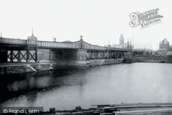 Barrow-In-Furness, High Level Bridge 1895