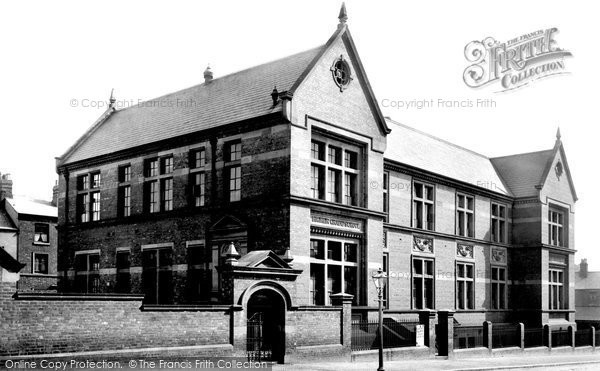 Barrow In Furness, Higher Grade School 1895