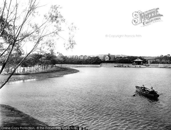 Barrow In Furness, Park Lake 1924