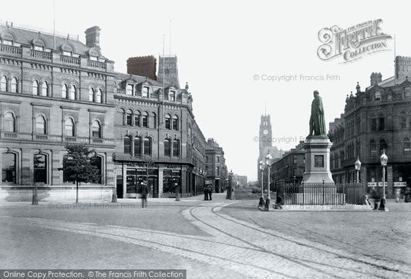 Barrow In Furness, Ramsden Square 1893