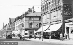 Barrow-In-Furness, The Hartington Hotel And Pass's Music Shop c.1955, Barrow-In-Furness