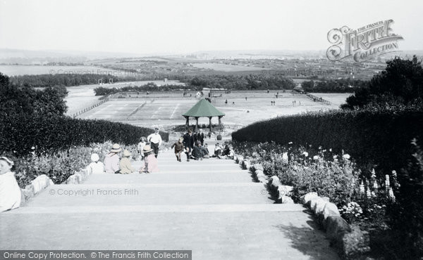 Barrow In Furness, The Park 1918