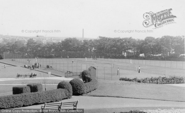 Barrow In Furness,  The Park c.1955