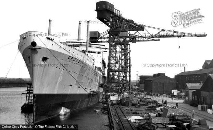 Barrow In Furness, The Shipyards c.1960