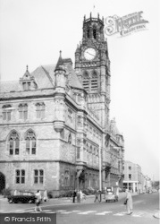 Barrow-In-Furness, The Town Hall c.1960