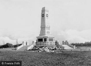 Barrow-in-Furness, the War Memorial 1924