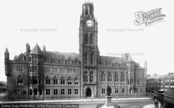 Barrow In Furness, Town Hall 1893