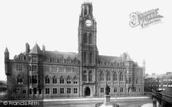 Barrow-In-Furness, Town Hall 1893, Barrow-In-Furness