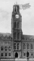 Barrow-In-Furness, Town Hall 1893