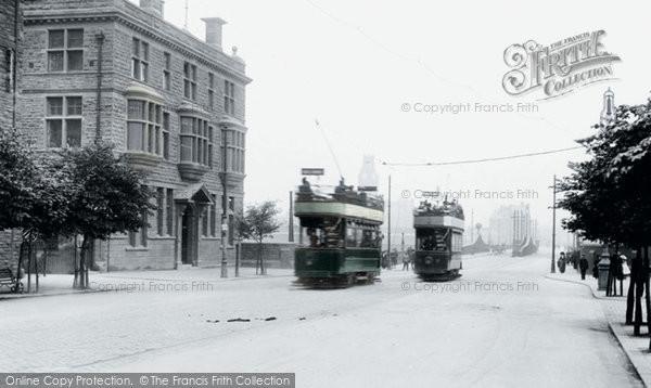 Barrow In Furness, Trams 1912