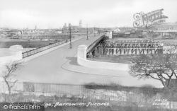 Barrow-In-Furness, Walney Bridge 1908