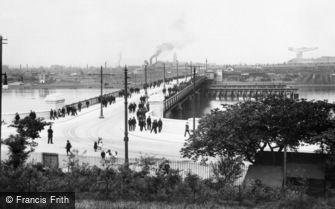 Barrow-in-Furness, Walney Bridge 1912