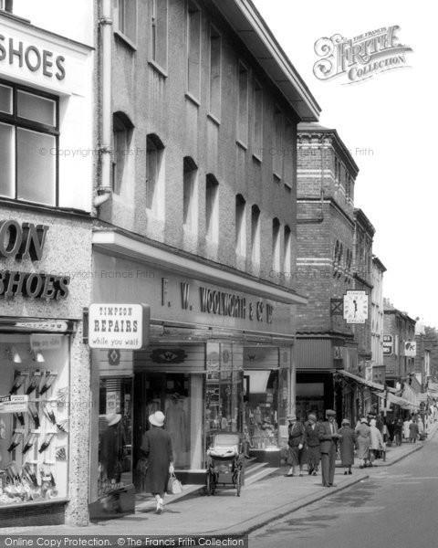 Barrow In Furness, Woolworth's, Dalton Road c.1955