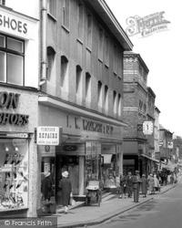Barrow-In-Furness, Woolworth's, Dalton Road c.1955, Barrow-In-Furness