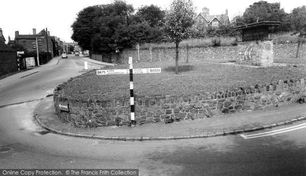 Barrow Upon Soar, High Street And The Village Sign c.1965