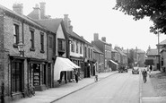 Barrow Upon Soar, High Street c.1955