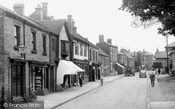 Barrow Upon Soar, High Street c.1955