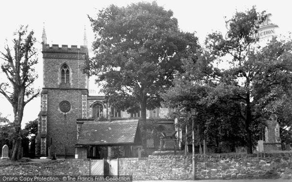Barrow Upon Soar, Holy Trinity Church c.1955