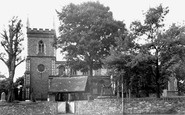 Barrow Upon Soar, the Church c1965