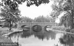 Barrow Upon Soar, River And Bridge c.1965