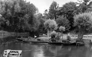 Barrow Upon Soar, the Boathouse c1965