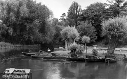 Barrow Upon Soar, The Boathouse c.1965