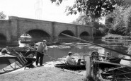 Barrow Upon Soar, the Bridge and River c1965