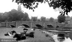 Barrow Upon Soar, The Bridge c.1960
