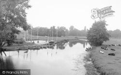 Barrow Upon Soar, The River c.1955
