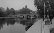 Barrow Upon Soar, The River Soar And Bridge c.1965