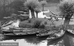 Barrow Upon Soar, The River Soar c.1955