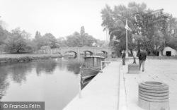 Barrow Upon Soar, The River Soar c.1965