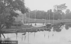 Barrow Upon Soar, The Riverside c.1955
