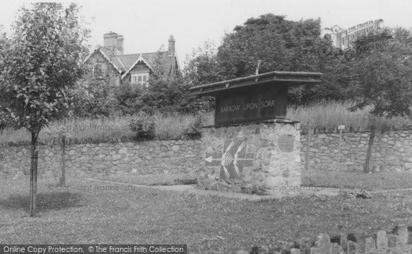 Barrow Upon Soar, The Village Sign c.1965