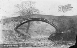 Barrowford, Old Roman Bridge c.1910