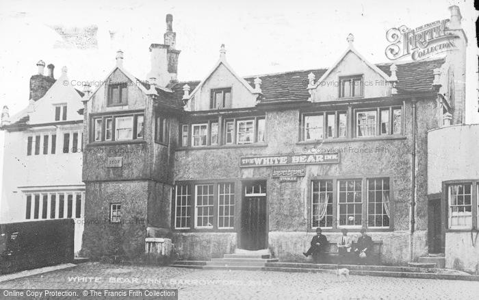 Photo of Barrowford, The White Bear Inn c.1910