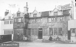 Barrowford, The White Bear Inn c.1910