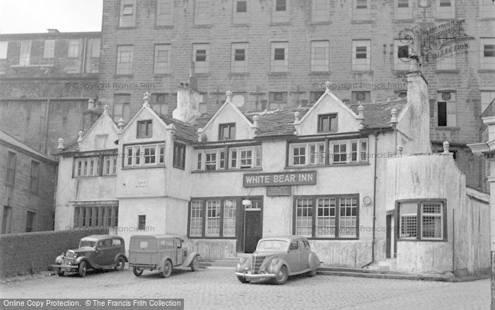 Photo of Barrowford, White Bear Inn 1954