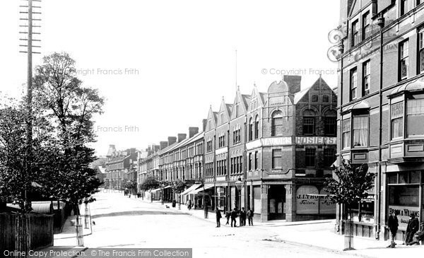 Barry, Broad Street 1899