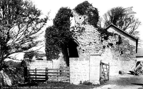 Photo of Barry, Castle 1899