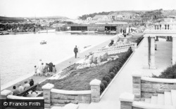 Barry, Cold Knap Marine Lake c.1931
