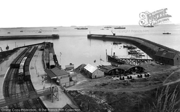 Barry, Harbour 1925