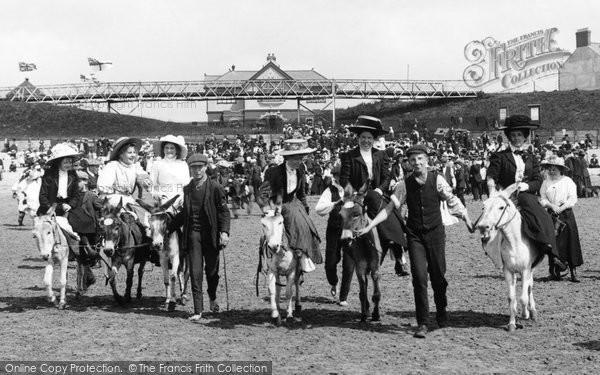 Photo of Barry Island, Donkey Rides 1910