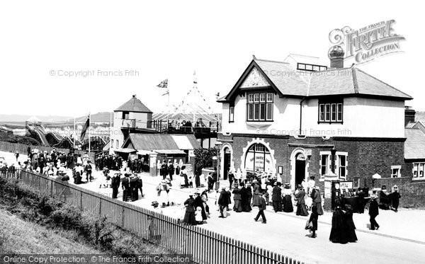 Photo of Barry Island, Entrance To The Pleasure Beach 1910