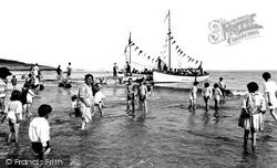 'paddling' 1925, Barry Island