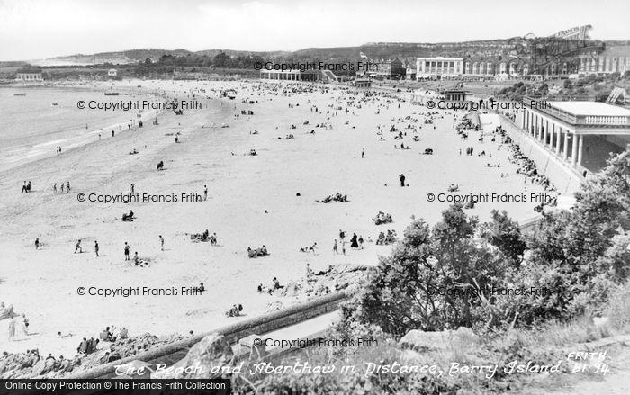 Photo of Barry Island, The Beach c.1960