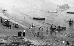 Barry Island, The Beach, Whitmore Bay 1900